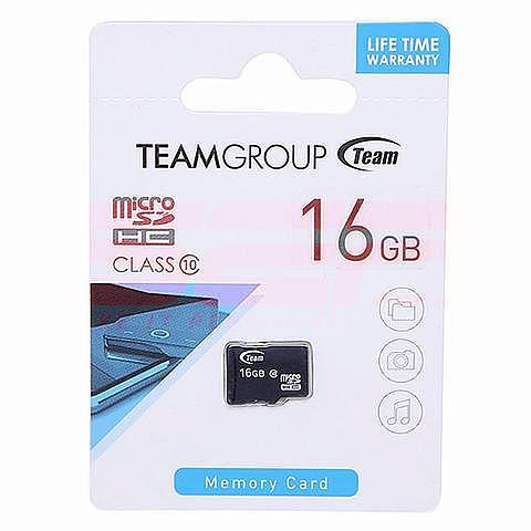 Card memorie micro-SD 16GB Team clasa 10