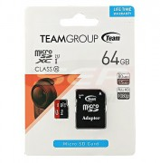 Card memorie micro-SD 64GB Team clasa 10