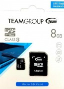 Card memorie micro-SD 8GB TEAM clasa 10