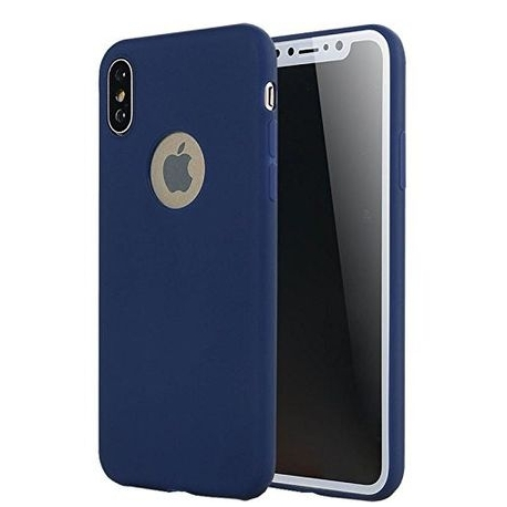 Husa APPLE iPhone X - Forcell Soft (Bleumarin)