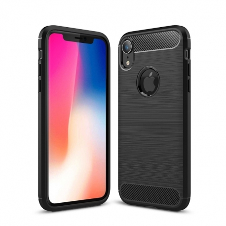 Husa APPLE iPhone XR - Carbon (Negru) FORCELL