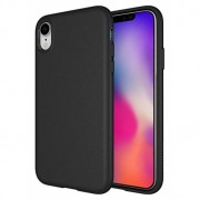 Husa APPLE iPhone XR - Rubber (Negru)