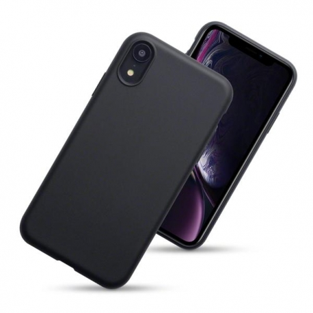 Husa APPLE iPhone XR - Ultra Slim Mat (Negru)