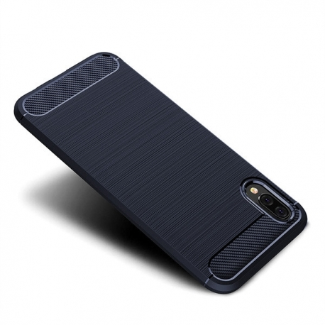 Husa HUAWEI P20 - Carbon Forcell (Bleumarin)