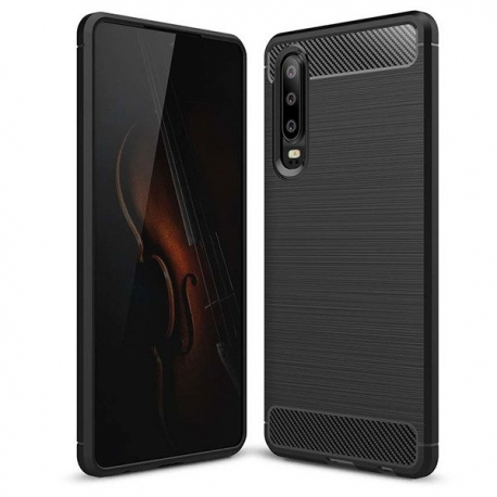 Husa HUAWEI P30 - Carbon (Negru) FORCELL