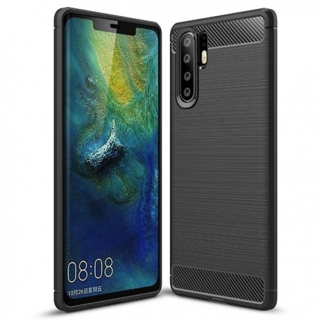 Husa HUAWEI P30 Pro - Carbon (Negru) FORCELL