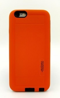 Husa Motomo Antishock 2 in 1 Samsung Galaxy S6 Edge ORANGE