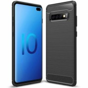 Husa SAMSUNG Galaxy S10 Plus - Carbon (Negru) FORCELL