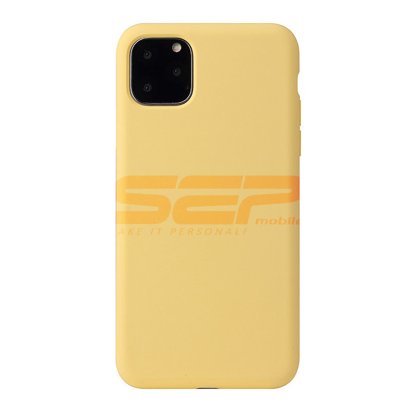 Husa silicon High Copy Samsung Galaxy S10 Yellow