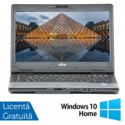 Laptop FUJITSU SIEMENS S782, Intel Core i7-3612QM 2.10GHz, 8GB DDR3, 240GB SSD, DVD-RW, 14 Inch, Webcam + Windows 10 Home, Refurbished